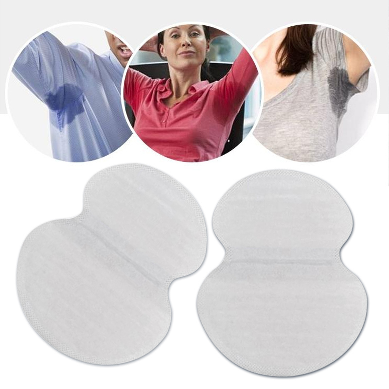 30pcs Summer Underarm Armpit Sweat Pads For Women Underarm Deodorants Stickers Absorbing Disposable Anti Perspiration Patch