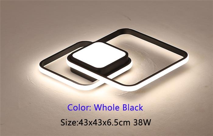 43x43cm Whole black