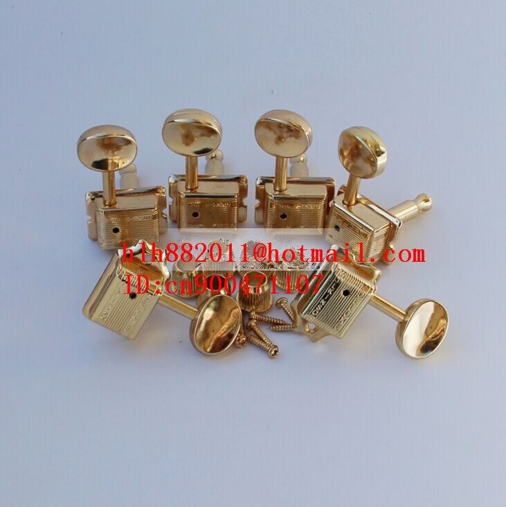 free shipping new electric guitar  tuning peg in gold guitar button for one side of guitar  WJ-55   N28 free shipping new electric guitar jade tuning peg in gold guitar button wj44 n22