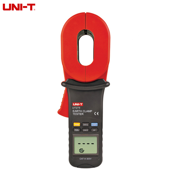 UNI-T UT275 Clamp Ground Earth Resistance Tester Digital Clip-on Grounding Resistance Tester