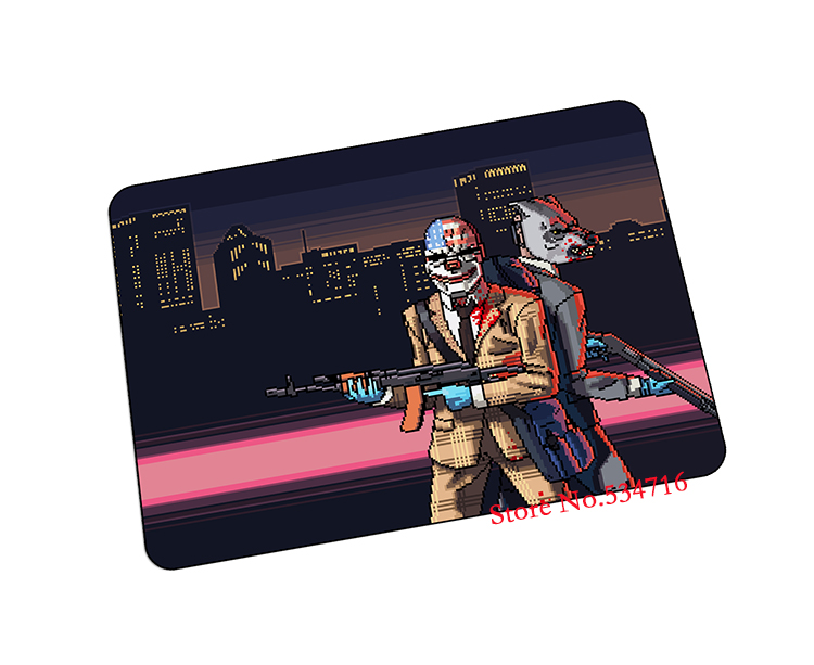 Hotline Miami mouse pad Fashion gaming mousepad Halloween Gift gamer mouse mat pad game computer desk padmouse keyboard play mat