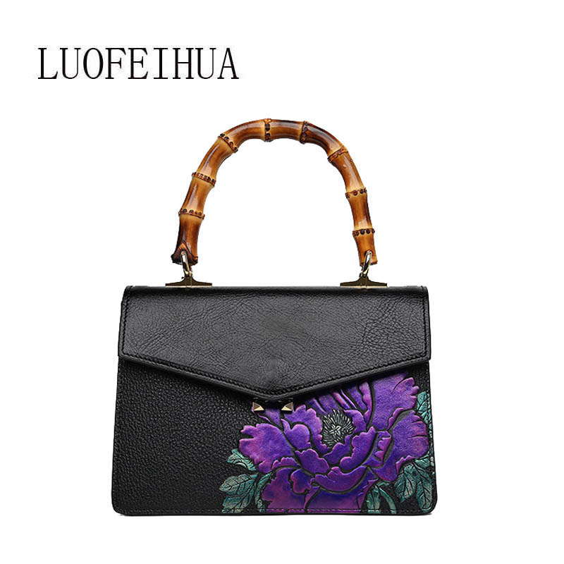 Genuine Leather women bags for women 2019 new luxury retro embossed handbag brand bag female bag female designer bagGenuine Leather women bags for women 2019 new luxury retro embossed handbag brand bag female bag female designer bag