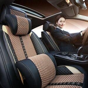 Image 3 - Carro acreditar capa de assento do carro para toyota corolla chr auris desejo aygo prius avensis camry 40 50 acessórios capas para assento do veículo