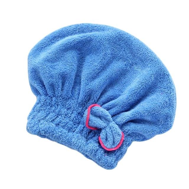 Microfibre Bath Spa Bowknot Bọc Tóc Nhanh Chóng Sấy Khô Khăn Hat Cap Cho Bồn Tắm Phụ Kiện Phòng Tắm Hot Bán