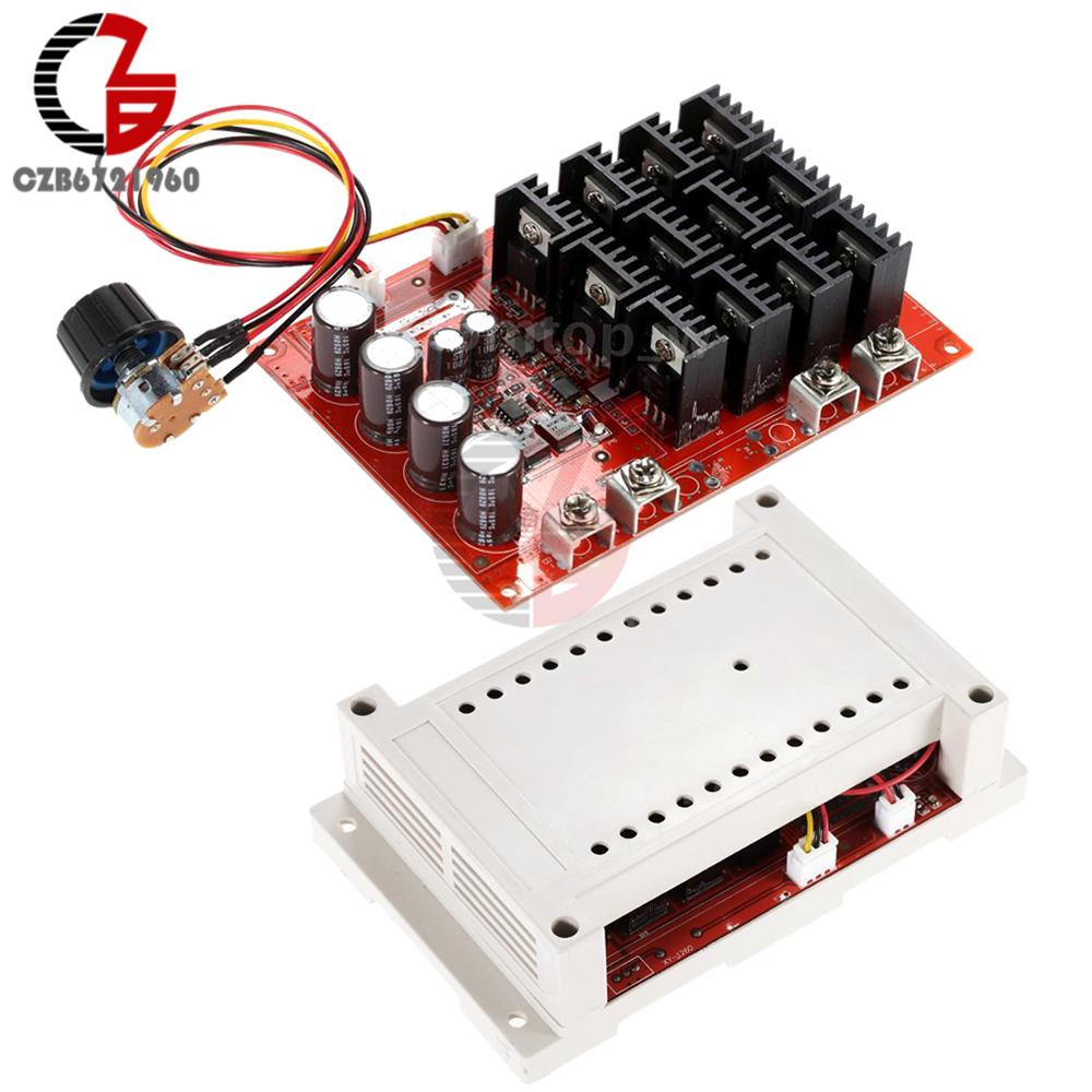 10-50V 60A DC Motor Speed Controller PWM HHO RC Controller 12V 24V 48V 3000W Case 100pcs 10 50v 60a dc motor speed control pwm hho rc controller 12v 24v 48v 3000w max high quality dhl ems fedex free shipping