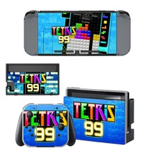 Tetris 99 Skin Sticker vinyl for NintendoSwitch stickers skins for Nintendo Switch NS Console and Joy-Con Controllers