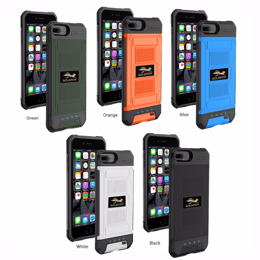 For iPhone 6 s 3000mah/4200mah Portable Battery Charger Case 6 6S 7 Charging Power Case Cover For iPhone 6 6S 7 Plus Phone case