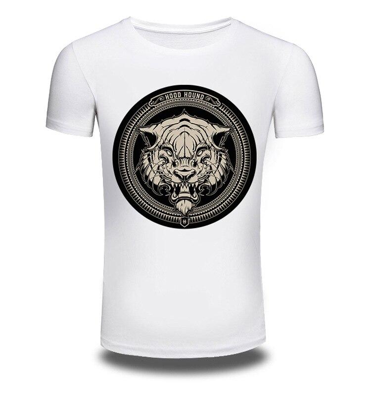 Brand Clothing Summer Fashion Short Sleeve T Shirt Men/Women 3D Print Shirts Cartoon T-shirt Animal White T-shirts Top Tee AW023