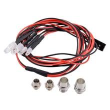 RC Светодиодный ночной фары головной светильник с 3/5 мм светодиодный светильник для модели RC Drift гусеничный автомобиль для RC автомобиль FJ88