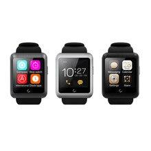 """ใหม่1.59 """"จอแอลซีดีบลูทูธโทรศัพท์นาฬิกาสมาร์ทU11กับช่องเสียบซิมการ์ดสำหรับiphone se/6วินาที/6วินาทีบวก/s amsung S7/หัวเว่ยP9 IOS A ndroid P hone"""