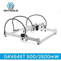 GKTOOLS 500mW 2500mW 45 45cm Mini CNC Wood Laser Engraver Cutter Engraving Machine DIY Acrylic PWM