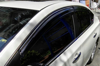 Per Sentra di Plastica Finestra Visiera Vent Shades Sun Pioggia Deflettore Guard Per Sentra Accessori Auto 4 pz/set 2012 2015|Deflettori per finestrini auto|Automobili e motocicli -