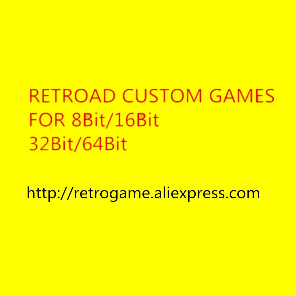 Custom Game For 8bits/16bits/32bits/64bits