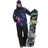 Для мужчин зимние комплекты спорт на открытом воздухе лыжные комплекты сноуборде Лыжный Спорт Одежда 30 зимние костюмы куртка + брюки