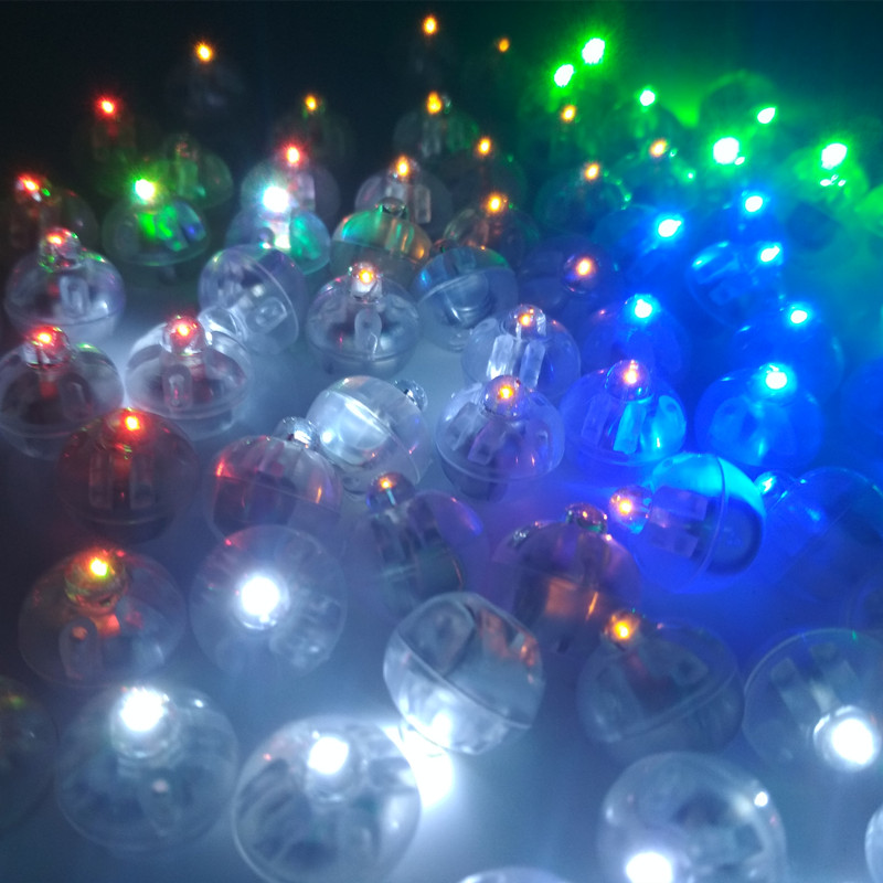 AJP 100pcs lot Mini Round Ball Led Balloon RGB Lights Valentine 39 s Day Flash Lamps for Lantern Christmas Wedding Party Decoration in Glow Party Supplies from Home amp Garden