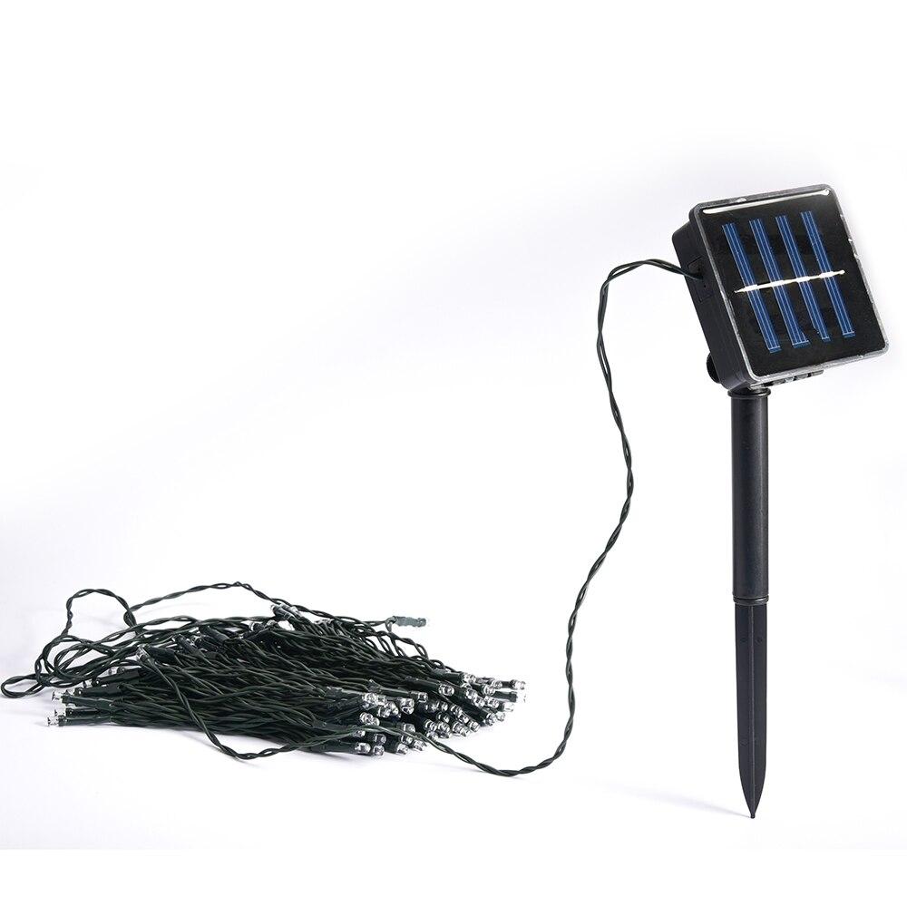 solar lamps 22m 200led string lawn christmas hoilday