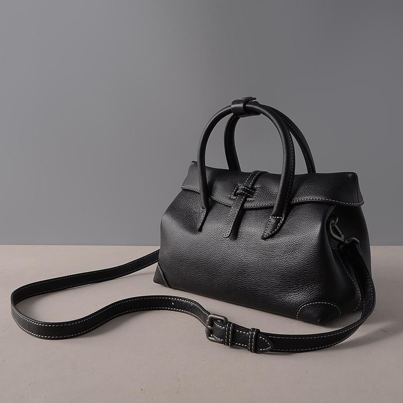 Joyir luxury handbags women bags designer genuine leather fashion Litchi grain three colors top-handle bags woman messenger bags