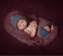 70 50cm Fluffy Wool Felt Fleece Real Pure Wool Basket Filler Stuffer Newborn Photography Props