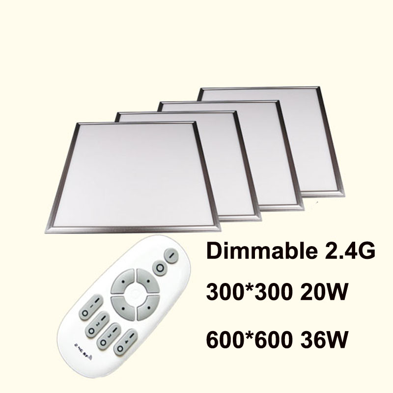 20W 300x300mm, 36w 600x600mm,2.4G RF LED Panel light 2800-6500k adjustable dimmable color temperature and brightness adjustable20W 300x300mm, 36w 600x600mm,2.4G RF LED Panel light 2800-6500k adjustable dimmable color temperature and brightness adjustable