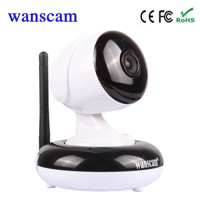 Wanscam HW0049 Wireless Wifi Surveillance IP Camera Wireless P2P East to Install Baby Monitor Support 128G TF card Pan/Tilt wanscam hw0021 p2p home wifi surveillance camera wireless pan tilt support tf card recording up to 128g