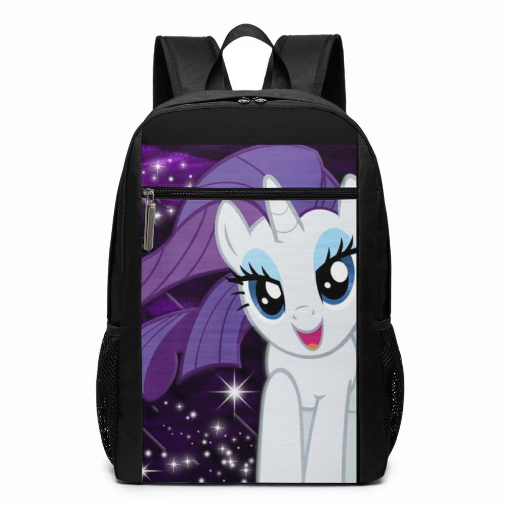 My Little Pony Backpack Rarity Backpacks Multifunctional Student Bag Pattern University Trend Man - Woman High Quality Bags