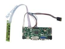 M.NT68676.2A Universal HDMI VGA DVI Audio LCD Controller Board for 14inch 1600×900 B140RW01 LED Monitor Kit for Raspberry Pi