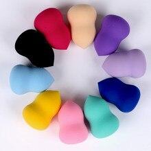 HZM rose Red Makeup Foundation Make Up Sponge Puff Cosmetics Powder Soft Cheap Beauty Tools Gifts YA238