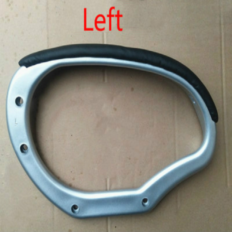 Chair Armrest for Swivel Lifting Office Computer Chair Handle Bracket Plastic Baking Paint Office Furniture Accessories