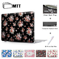 Red And Pink Roses Laptop Computer Bag Case For Mac Apple Macbook Pro 15 For Macbook