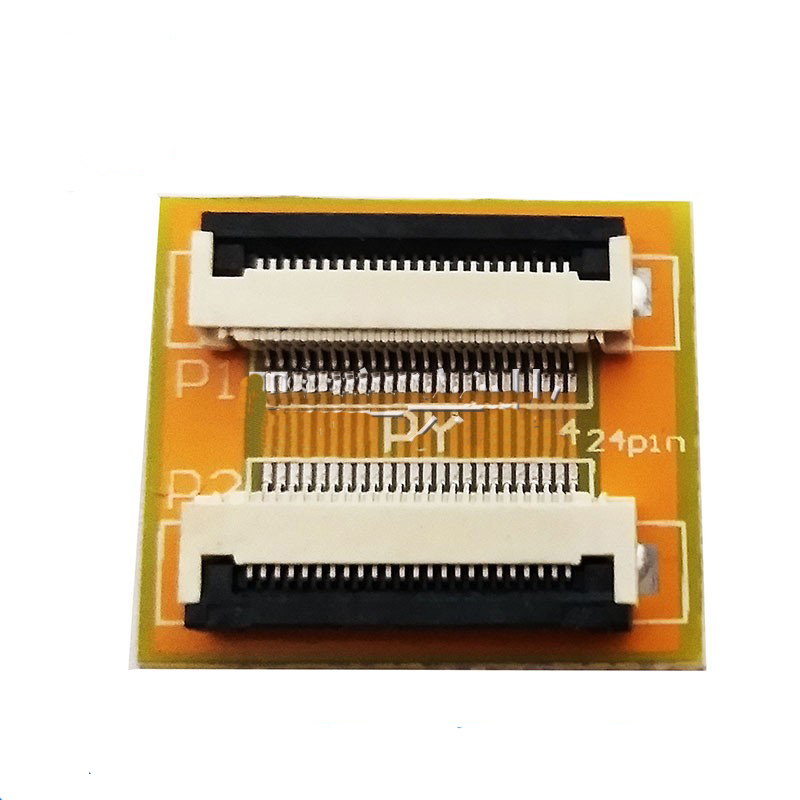 Free Shipping 2PC Flexible Flat Cable FFC FPC 24P Extension Board With 0.5mm Connector Soldering  Adapter PCB Board