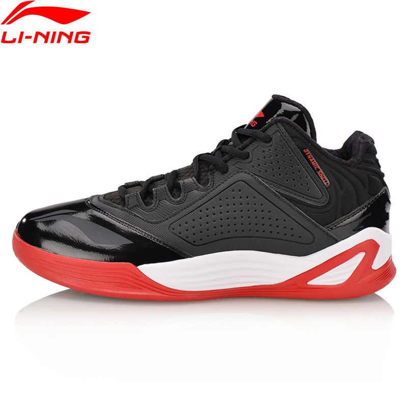 Li-Ning Men 2018 DESERT EAGLE On Court Basketball Shoes Wearable Li Ning Sports Shoes DYNAMIC SHELL Sneakers ABPN005 li ning original men sonic v turner player edition basketball shoes li ning cloud cushion sneakers tpu sports shoes abam099