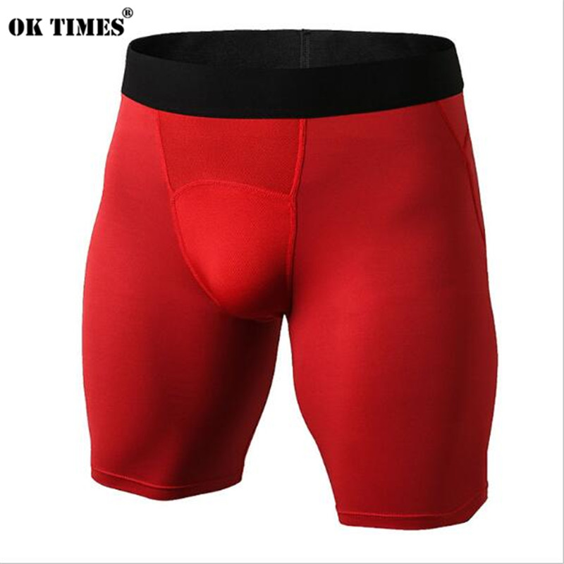 #1044 Men Boys High Elasticity Athletic Running Sports Gym Compression Tights Sweat Wicking Quick Dry Shorts  EU Size XS~XXL