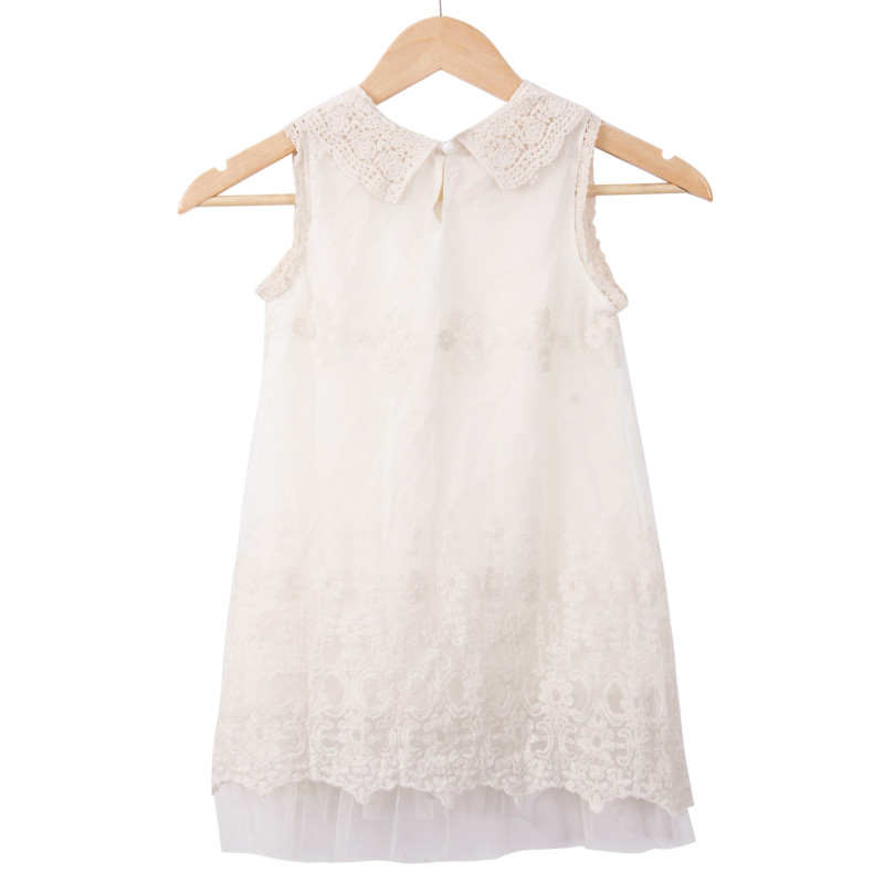 White Lace Girl Dress New Girls Kids Princess Elegant