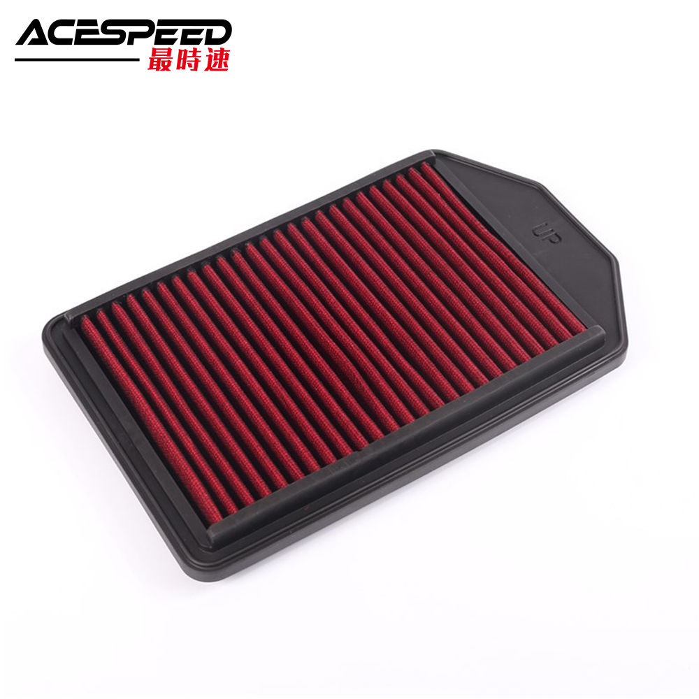 Genteel Repalcement Air Filter Fits For Honda Cr-v 2.4l L4 Fuel Injection All Models 2007 To 2009 Exquisite Workmanship In