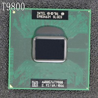 Free Shipping intel CPU laptop Core 2 Duo T9800 CPU 6M Cache/2.93GHz/1066/Dual Core Socket 479Laptop processor forGM45 PM45