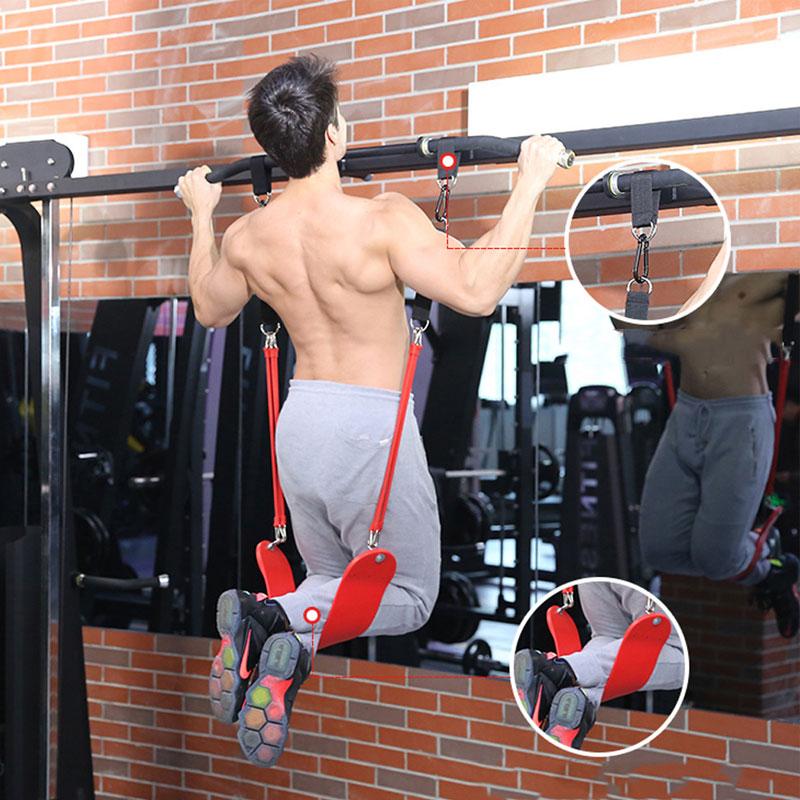 ALBREDA Resistance Band Pull up Bar Slings Straps Sport Fitness door horizontal bar Hanging Belt Chin