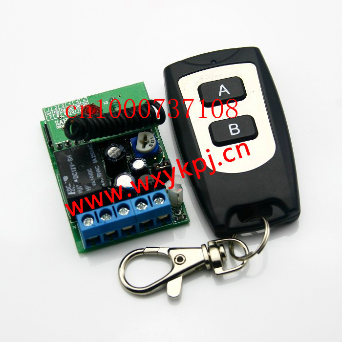 12v 1ch rf wireless remote control power switch delay Time relay is adjustable automation zwave