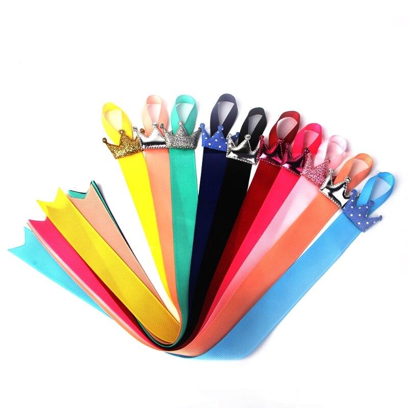 5 X Baby Kids Girls Hair Bow Grosgrain Ribbon Hair Clip Holder Storage Organizer