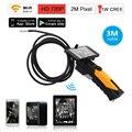 Eyoyo HD 720 P WIFI Cámara de Inspección de Serpiente Del Endoscopio de la Cámara 2.0 Mega Píxeles 3 M Cable 8.5mm lente 6 LED para Smartphone