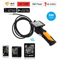 Eyoyo HD 720P WIFI Inspection Camera Endoscope Snake Camera 2.0 Mega Pixels 3M Cable 8.5mm lens 6 LED for Smartphone
