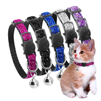 quick-release-cat-collar-nylon-kitten-collars-for-small-pets-kitten-1cm-width-cat-accessories-red-black