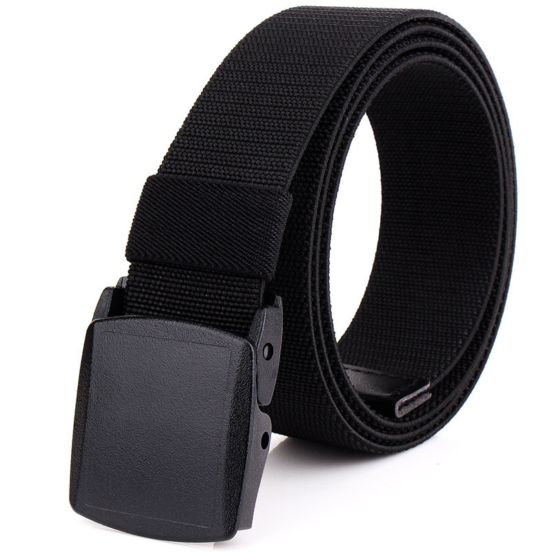 Military Tactical Army Belt High Quality Men Nylon Belt Outdoor Plastic Automatic Buckle Canvas Belts Women Jeans Accessories