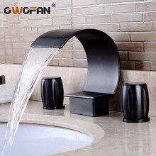 Grifo de lavabo moderno de moda, accesorios de baño, cepillo negro, grifos Retro de níquel, mezclador de agua caliente y fría, grúa