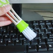 Автомобильная щетка для чистки автомобиля-Стайлинг пылесборник для клавиатуры компьютера чистящие инструменты оконное приспособление для чистки жалюзи авто чистящие аксессуары