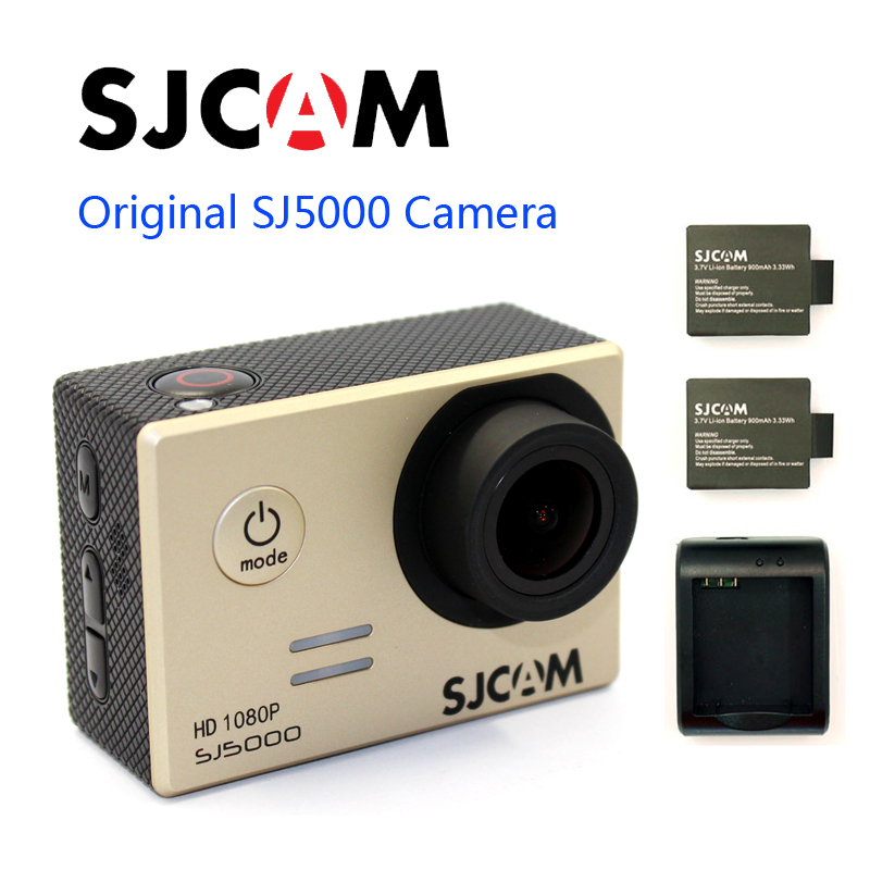 Free shipping!!Original SJCAM SJ5000 Diving 30M Waterproof Sport Action Camera+Extra 2pcs batteries+Battery Charger free shipping original sjcam sj4000 diving 30m waterproof sport action camera battery charger extra 1pcs battery the monopod