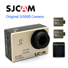 Free shipping!!Original SJCAM SJ5000 Diving 30M Waterproof Sport Action Camera+Extra 2pcs batteries+Battery Charger