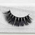 Visofree Mink False Eyelashes Classic Collection Upper Lashes Natural & Lightweight Mink Lashes 1 pair Glitter Packaging A14