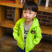 New Arrival 2017 baby boys coats and jackets little kids hooded coat children fashion outerwear cotton 100% high quality