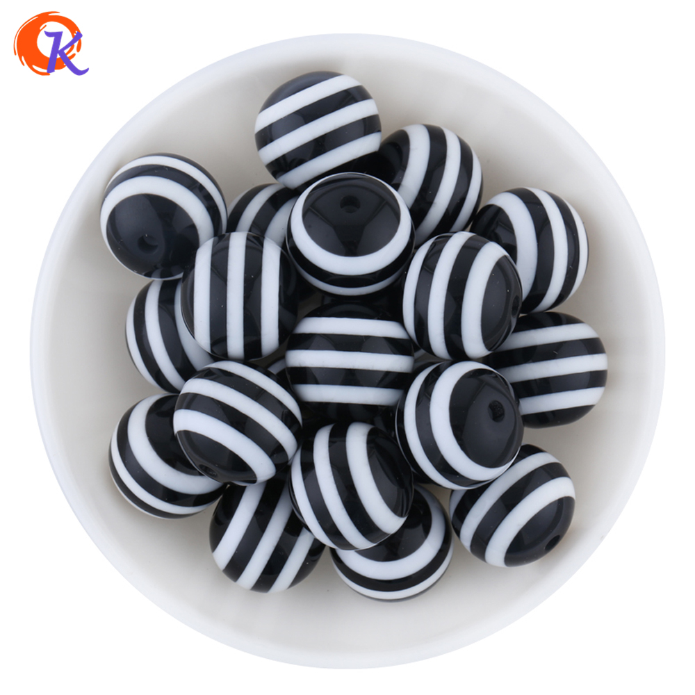 Cordial Design AAA Quality 100pcs Black And White 20mm Striped Resin Beads For Chunky Necklace And Bracelet CDWB-513008Cordial Design AAA Quality 100pcs Black And White 20mm Striped Resin Beads For Chunky Necklace And Bracelet CDWB-513008