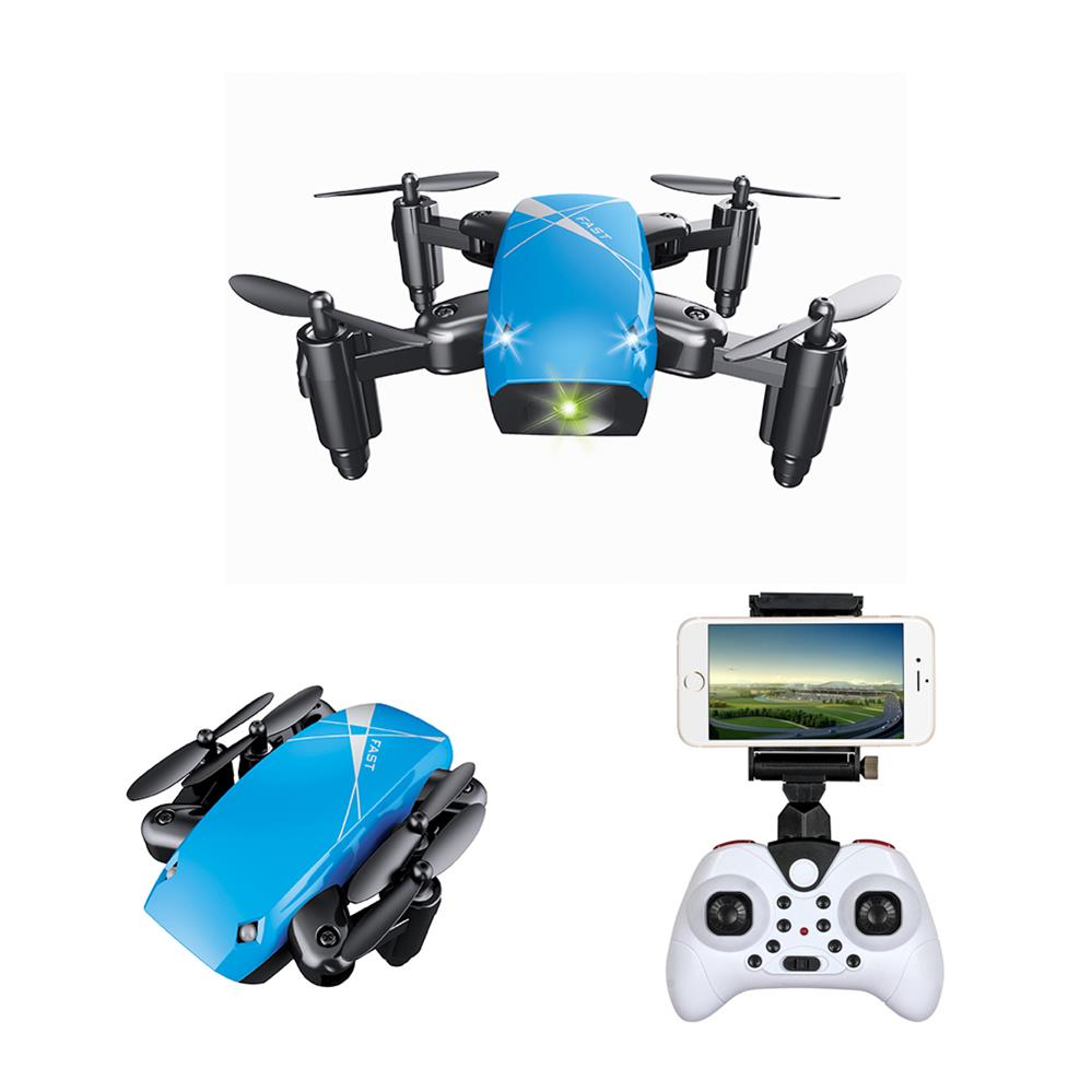 S9HW Mini Drone With Camera S9 No Camera Foldable RC Helicopter Altitude Hold RC Quadcopter WiFi FPV Micro Pocket Dron Boy Toys 7